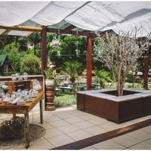 Lounges na Varanda Coberta - Espaço La Forêt